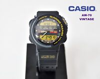 VINTAGE   CASIO Collection AW-70 RUNNING TRAINER