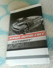 Transformers ROTF CANNON BUMBLEBEE INSTRUCTION BOOKLET ONLY