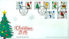 """Great Britain- 2016- """"Christmas""""- First Day Cover Set"""