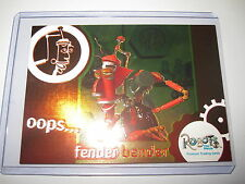 ROBOTS THE MOVIE FENDER BENDER RARE HOLOFOIL EMBOSSED CARD CHASE FB-1 MINT