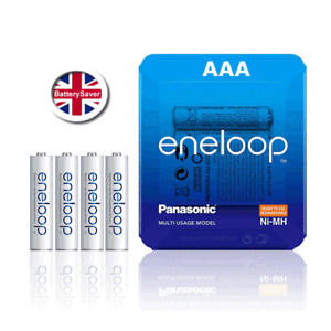 Panasonic eneloop AAA 5th Gen (4 pack) NiMH Rechargeable Batteries - BK-4MCCE