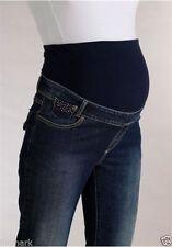 Over Bump Indigo, Dark wash Slim, Skinny Maternity Jeans