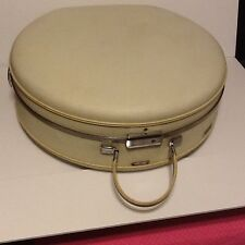 Vintage American Tourister Wig box hat box Vintage suit case suitcase train case