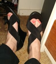 Black Naturalizer Wedge Shoes Size  9.5