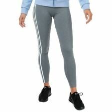 Women's adidas Believe This 3-Stripes Stretchy Training Tights in Grey
