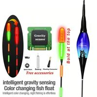 Smart Float Charger Space Bean 4in1 Bite Alarm Fish LED Light Automatic Night
