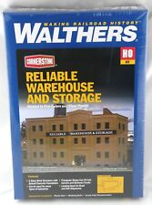HO Scale Reliable Warehouse and Storage Kit - Walthers #933-3014