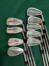 Titleist 735•CM Forged Irons Set, 3 - PW + Vokey 52°. Stiff Flex.