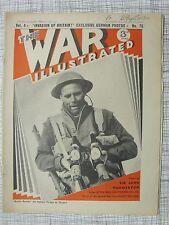 The War Illustrated #76 (Derna Greece Stuka, Bardia, Eritrea, HMS King George V)