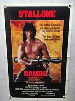 1985 Rambo First Blood Part II Original 1SH Movie Poster Sylvester Stallone