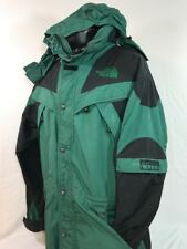 VTG The North Face Jacket Extreme Light 90's Ski Hood Coat Men's XL Green Black