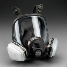 3m 7 In 1 6900 Full Face Reusable Respirator For Spraying Amp Painting Large
