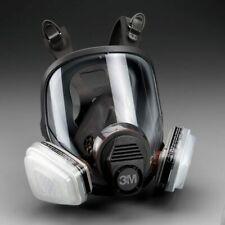3m 7 In 1 6800 Full Face Reusable Respirator For Spraying Amp Painting Medium