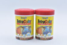 New listing Lot Of 2 Tetra, Tetra Color Tropical Flakes, Top/Mid Feeder, 1oz Exp: 05/22