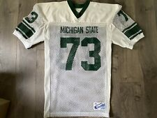 Michigan State Spartans Pro Cut Game Worn Jersey Champion Staisil NCAA XL 80s