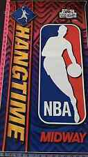 Hang Time Midway NBA Vintage Side Cabinet Arcade 1X Vinyl Sticker NOS