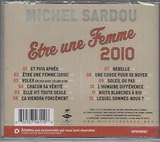 Michel Sardou - Etre une Femme 2010  (CD/NEU/OVP in Folie)