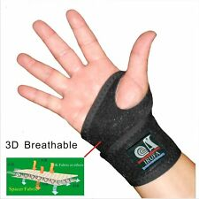 IRUFA 3D Breathable Patented Fabric Wrist Wrap Support Brace Sport Golf Tennis