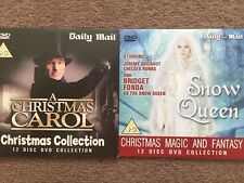 Daily Mail Promo Dvd Christmas Carol And Snow Queen