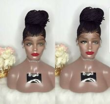 LACE Wig /French braids Up style ponytail/bun IN STOCK NOW