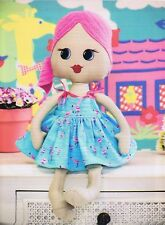 Baby Doll Sewing Pattern Patchwork & Stitching Magazine 10 Doll Bags Quilt Craft