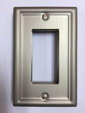 Switch Plate Chelsea Brushed Nickel R (Rocker) Wall Plate Wallplate Switchplate