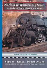 Norfolk & Western Big Steam Articulated Y & A Class in the 1950s DVD NEW