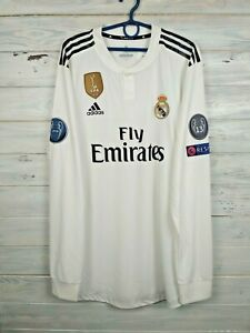 Real Madrid Player Issue Jersey 2018 2019 Climachill XXL Shirt Adidas DQ0869