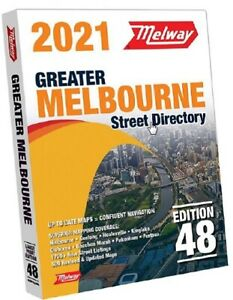 2021 Melway Edition 48 - Free Postage