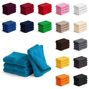 4er PACK Waschlappen Gästetücher Handtücher Duschtücher Badetücher Saunatücher