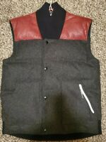 NIKE NSW Wool Down Vest Pinnacle Collection Size MEDIUM 503942-032 $460 NEW