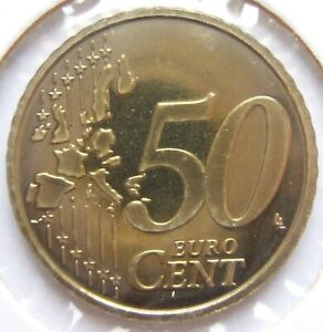 Belgique 50 Cent 2000 IN Proof