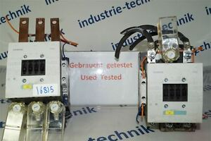 Siemens Sirius 4011209507333 Power Contactor 3RT1055-6AP36