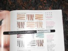 NIP avon glimmerstick brow definer liner light brown retractable free shipping
