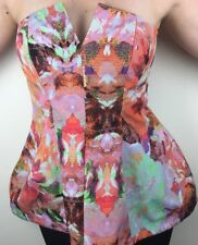 Finders Keepers Retrograde Bustier - Size Large - NWT - Rose Print