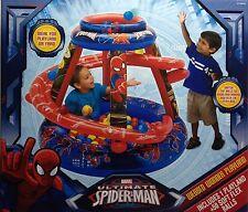Marvel Ultimate Spider-Man Webbed Wonder Playland +50 Soft Flex Balls NWT