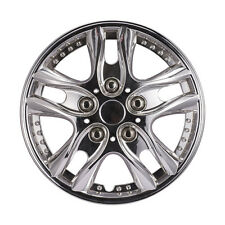 4pcs/ Set Car Chrome Wheel Rim Skin Cover 12 inch Hub Caps Hubcap Wheel Cover