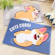 Cartoon Animal Thicken Soft Flannel Bedroom Door Mat Absorbent Non-slip Foot Pad