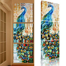 Peacock Painting HD Canvas Prints Picture Wall Art Room Hanging Decor Unframed