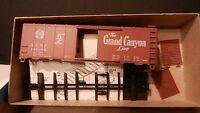 "Athearn HO BB Santa Fe DF ""Grand Canyon"" 40' Boxcar Kit, NIB"