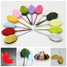 200pcs Artificial Leaves Silk Flower Garland Wedding Accessories DIY Decor Gift
