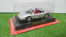 FERRARI   348 TS gris cabriolet a l'echelle 1/43 voiture miniature de collection