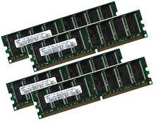 4x 1GB = 4GB RAM für Medion PC MD8383 XL (10/2004) Speicher 400 Mhz 184Pin