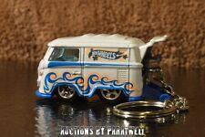 Custom 1/64 T2 Bus VW Van Wagon Samba Volkswagen T1 KeyChain Porte Cles Sunagon