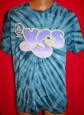 YES 2017 Yestival Concert Tour T-SHIRT Tie Dye XL PROG ROCK Steve Howe NEW