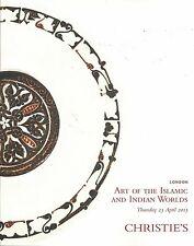 CHRISTIE'S ARAB INDIA QAJAR MUGHAL ART DAGGERS JEWELS KUTANYA IZNIK Catalog 2015