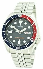 Seiko Automatic Divers Men's Blue Dial Stainless Steel Watch SKX009K2