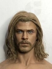Hot Toys Thor customized (re-haired) head + loose HT Thor parts ( No Body)