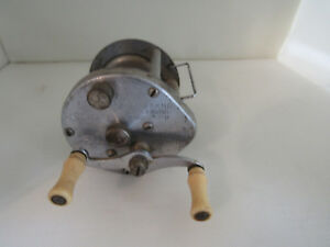 Vintage SOUTH BEND # 350-B Level Winding Anti-Backlash Baitcasting Reel USA GUC