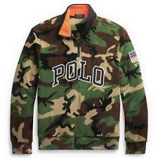 Polo Ralph Lauren Camo Fleece Half-Zip Pullover Sweatshirt 3XLT 3X Tall NWT $188